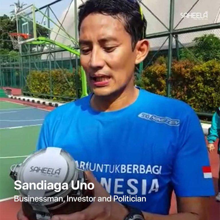 Sandiaga Uno Businessman Investor and Politician